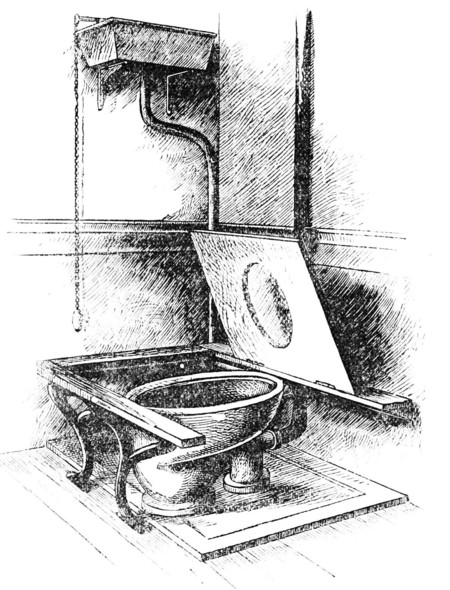 Psm V34 D326 Late 19th Century Sanitary Water Closet And Drainage