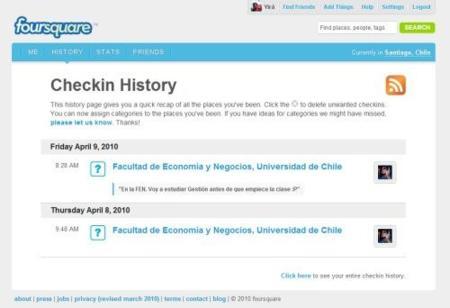 """Foursquare pone restricciones para evitar los check-in """"con trampa"""""""