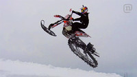 ¿Invierno? Convierte tu enduro/motocross en una moto de nieve