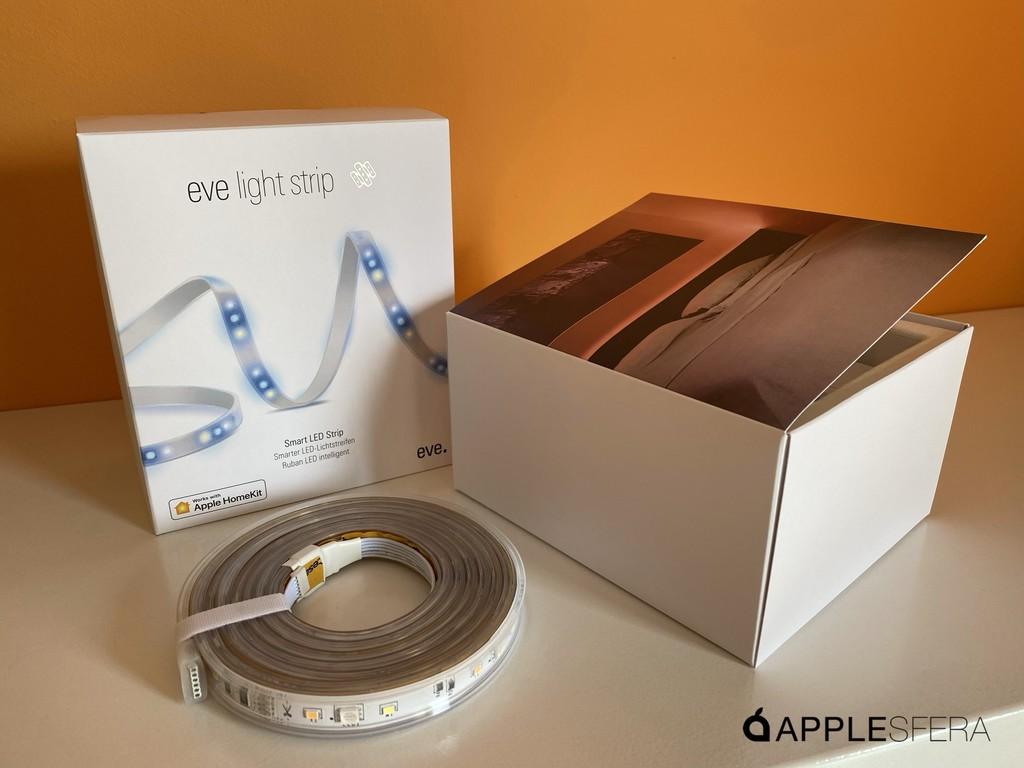 Eve Light Strip una de las mejores opciones de iluminación compatible con HomeKit