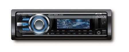Sony actualiza sus autoradios Xplod
