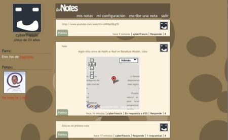 ByNotes, servicio de microblogging con geoposicionamiento