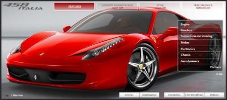 Conoce todos los detalles del Ferrari 458 Italia