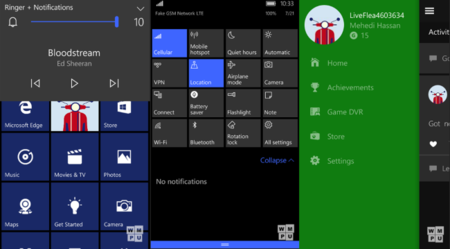 Así es la build 10240 de Windows 10 Mobile, que se acaba de filtrar como emulador