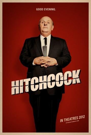 Imagen con el cartel de 'Hitchcock'