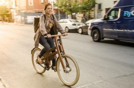 Bough Bikes prepara una bicicleta eléctrica de roble