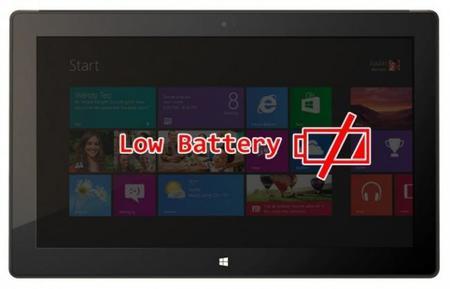 La actualización para Surface RT a Windows 8.1 recorta su autonomía, SOLUCIÓN