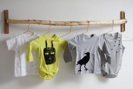 Hazlo tú mismo: Crea un armario con una rama de árbol