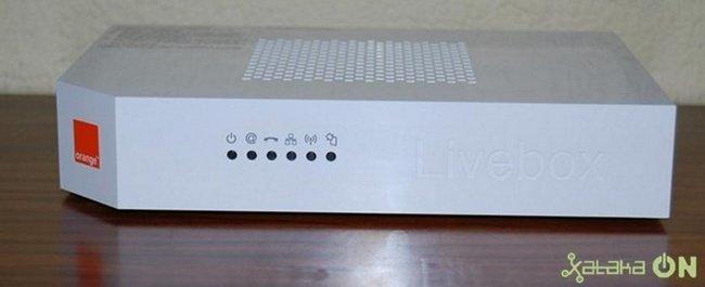 Livebox frontal