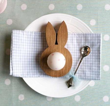 Diez originales maneras de decorar con huevos tu casa por Semana Santa