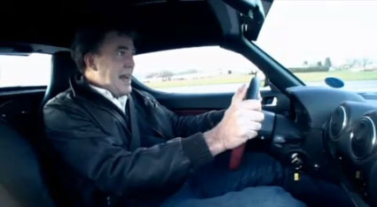 Tesla Roaster en Top Gear