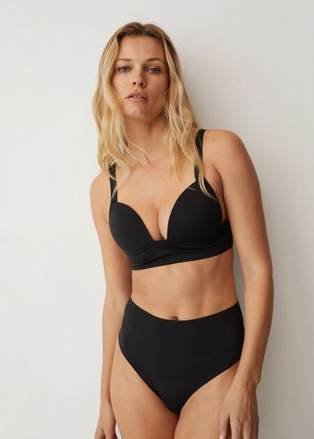 Mango Bikini Primavera 2021 Negro 01