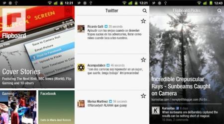 Capturas de Pantalla de Flipboard para Android