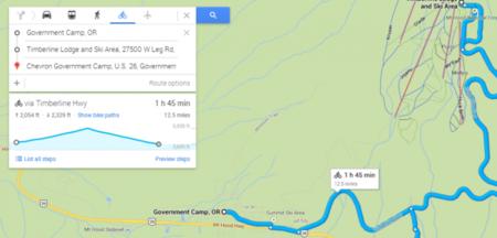 Actualización de Google Maps con niveles de elevación para ciclistas
