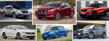 Los 377 autos más vendidos de México en 2020: la lista completa del ranking de ventas
