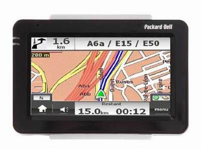 Compasseo 810 y 830, GPS de Packard Bell