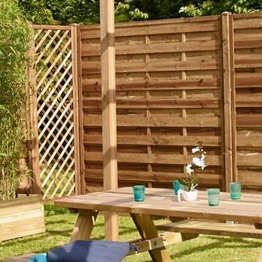Las mejores vallas decorativas de jardín y terraza: la solución para ganar en intimidad y confort