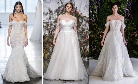 Tendencias Bridal Ss 2020 Tirantes Caidos