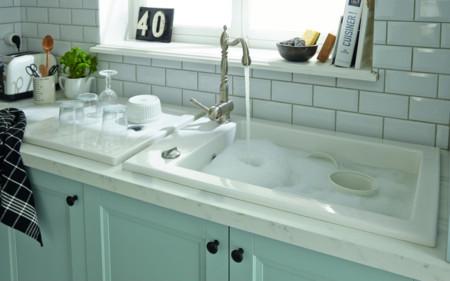 Plan cambiar el fregadero ejemplos funcionales y decorativos - Fregaderos ceramica rusticos ...