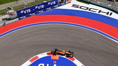 Norris Rusia F1 2020