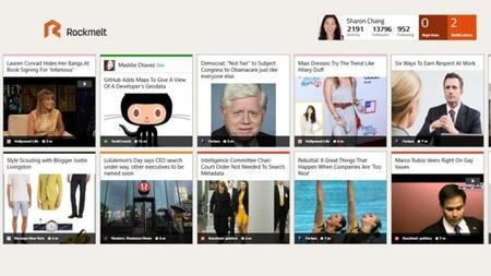 Rockmelt: News Discovery para Windows 8/RT. La aplicación de la semana