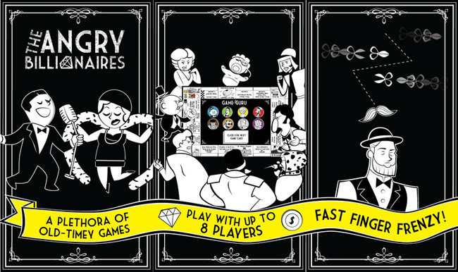 Minijuegos gratuitos para el iPhone - angry billionaires