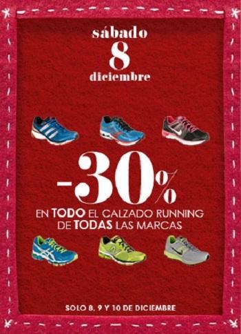 30% de descuento en todo el calzado running en 'El Corte Inglés', ¡hoy y mañana!