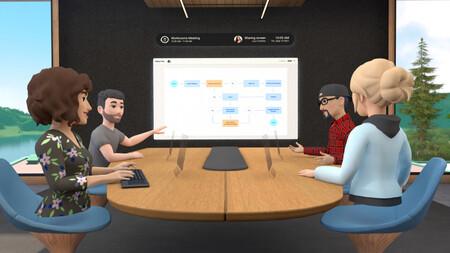 Ni videollamadas ni hologramas: la idea de Facebook para el teletrabajo es una sala con avatares en realidad virtual