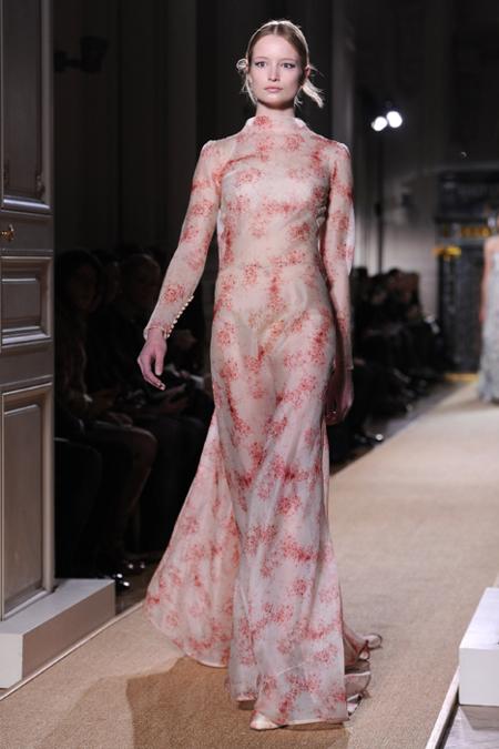 Estampado Valentino Alta Costura Primavera-Verano 2012