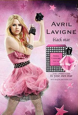 Black Star, nueva fragancia de Avril Lavigne