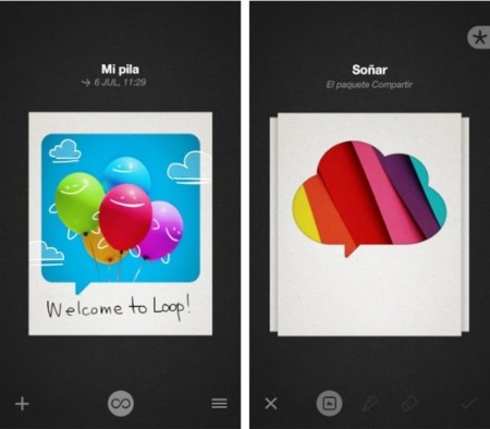 Bamboo Loop, la mezcla de Instagram y WhatsApp de Wacom