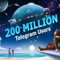 Telegram anuncia 200 millones de usuarios mensuales activos y presume de privacidad