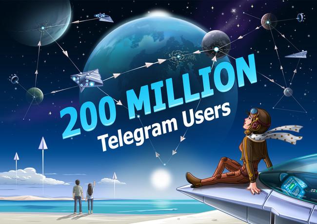 Telegram 200000000 Mau