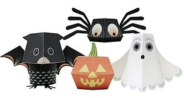 Recortables para decorar la fiesta de Halloween