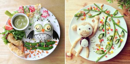 La originalidad de Samantha Lee nos lleva a mundos de fantasía con sus platos de comida