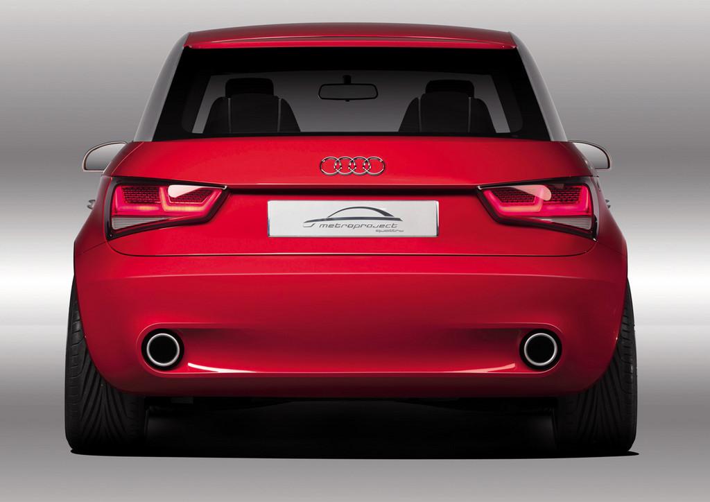 Foto de Audi A1 Metroproject Quattro Concept (4/35)