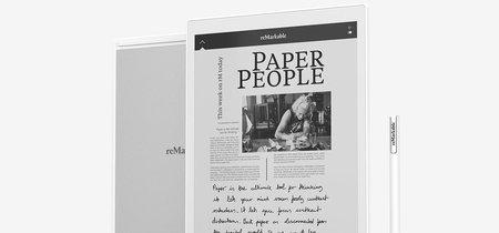reMarkable quiere ser el cuaderno del futuro: un lector de tinta electrónica en el que podemos dibujar