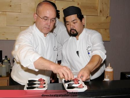 Un madrileño, entre los siete samuráis del sushi