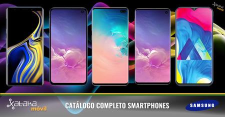 Samsung Galaxy S10, S10+, S10 5G, S10e y Fold, así encajan dentro del catálogo completo de smartphones Samsung en 2019