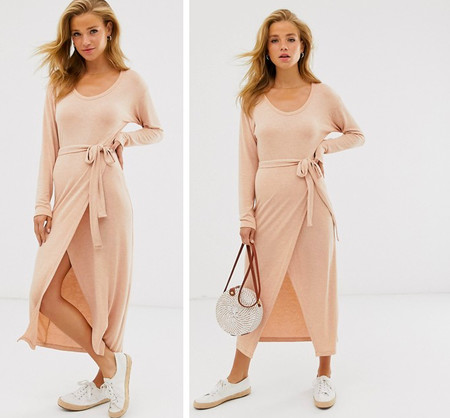 Vestido Rosa Midi