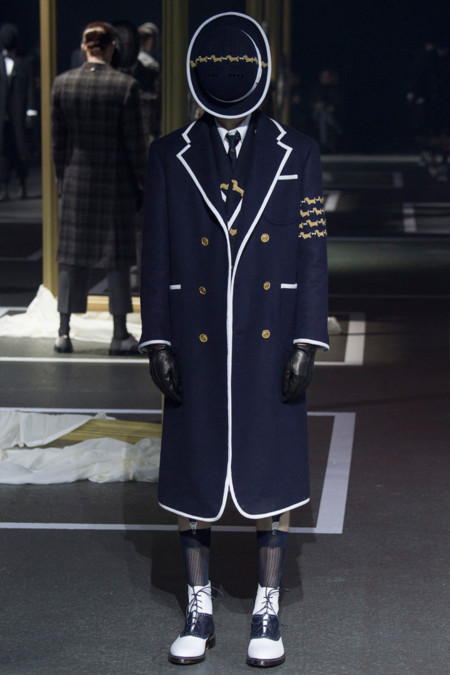 Thom Browne Fall Winter 2016 Paris Fashion Week 28