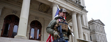 """""""We train for this"""": this is how the militias were organized by an app-walkie-talkie in the assault on the Capitol"""