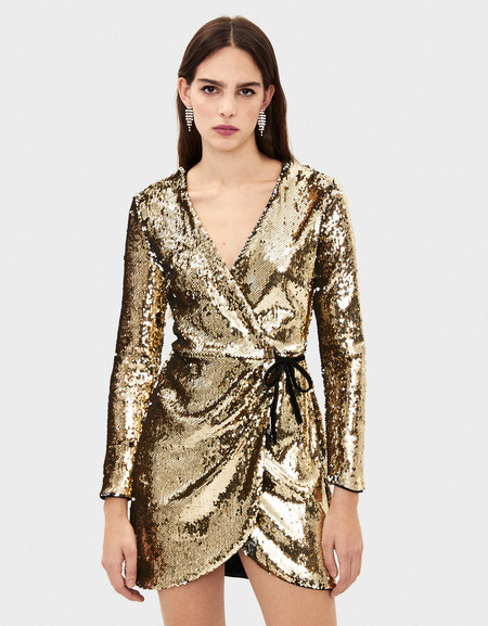 Prendas Lentejuelas Navidad 2019 Vestido 08