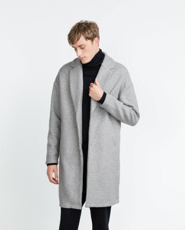 Moda de Baú a Masculina13 vas por los abrigos Zara da que 6gvYf7by