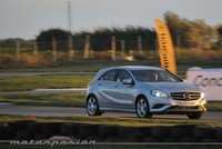 Mercedes-Benz A 180 contra A 200 CDI en circuito, miniprueba