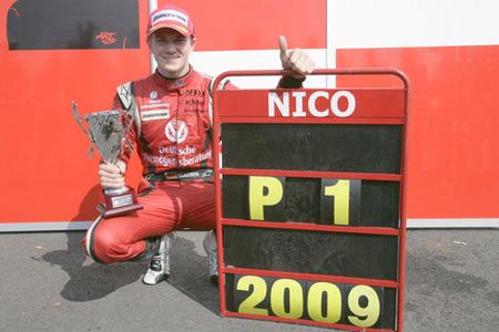 Nico Hulkenberg coronado campeón de la GP2
