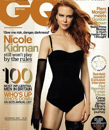 Nicole Kidman muy reveladora en la revista GQ