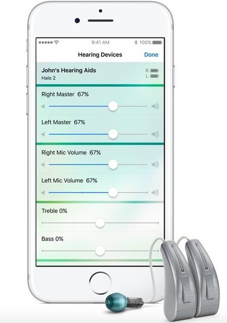 Apple mejora la accesibilidad para los aparatos de audición en iOS 10