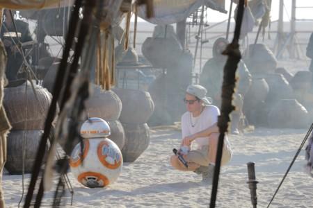 J.J. Abrams con BB-8