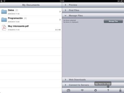 GoodReader, un lector imprescindible para el iPad